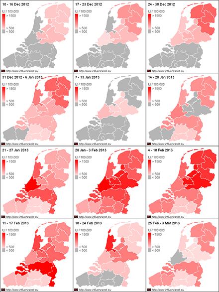 Afbeelding - In Nederland duurt de griep nu al 12 wek